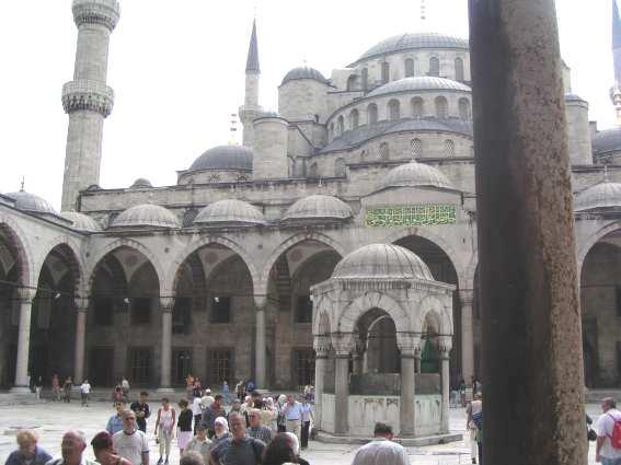 مناظر من تركيا - مناظر تركيا - مناظر في تركيا Istanbul_Blaue_Mosch