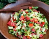 Jerusalem Salad (A Veggie Venture)