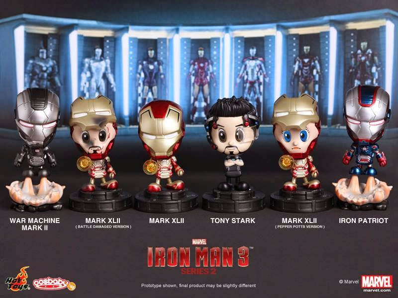 news hot toys previews cosbaby s iron man 3 series 2 bootleg iron man 2 starring