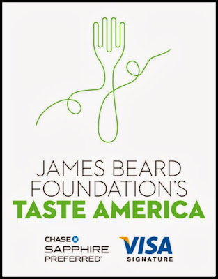 The James Beard Foundation Taste America Tour poster