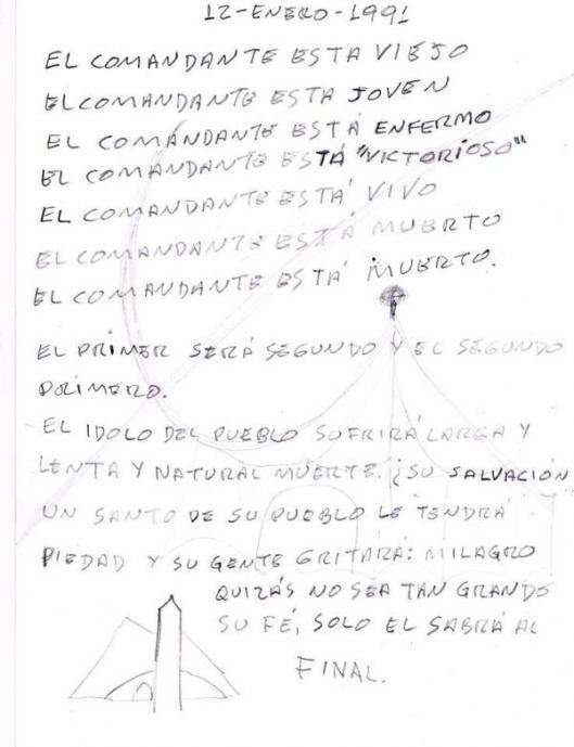 "Reinaldo dos Santos: ""Calma Venezuela, para que no les salga el tiro ..."