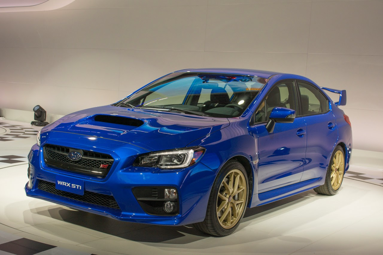 automotiveblogz 2015 suabru wrx sti detroit 2014 photos. Black Bedroom Furniture Sets. Home Design Ideas