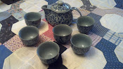 tea set from Chinatown,  San Fransico, California