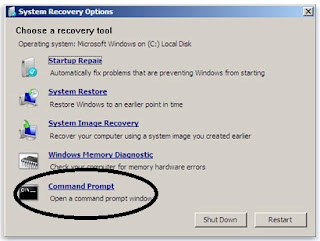 Cara Mudah Mereset Password Windows 7