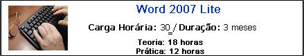 WORD 2007 LITE