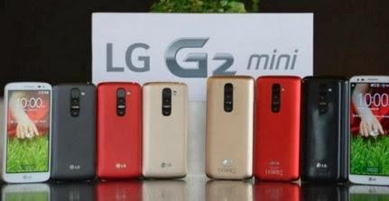Spesifikasi LG G2 Mini dan Harga