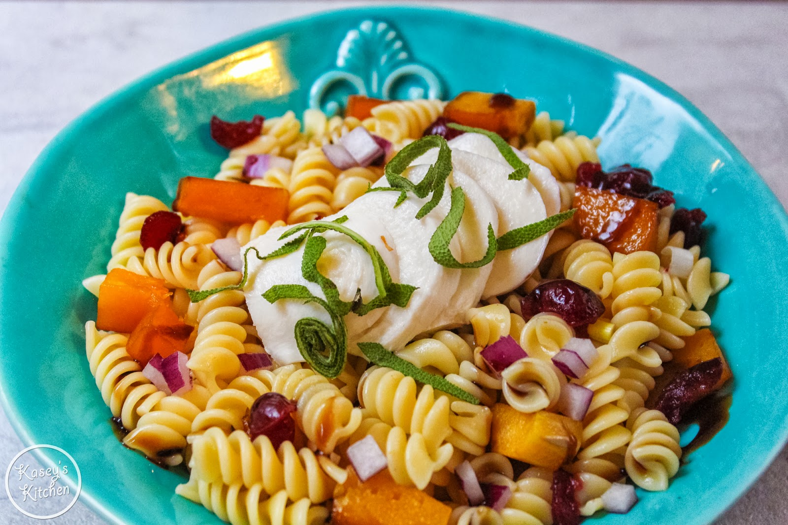 Fall pasta salad - Butternut Squash Pasta Salad