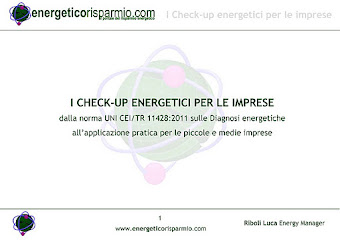 Check-up energetici per le imprese