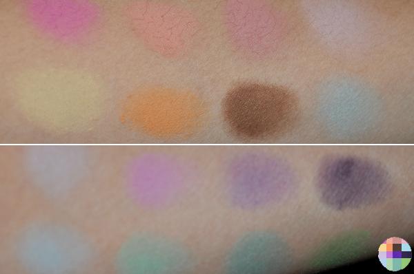 Sigma Creme de Couture Eyeshadow Swatches