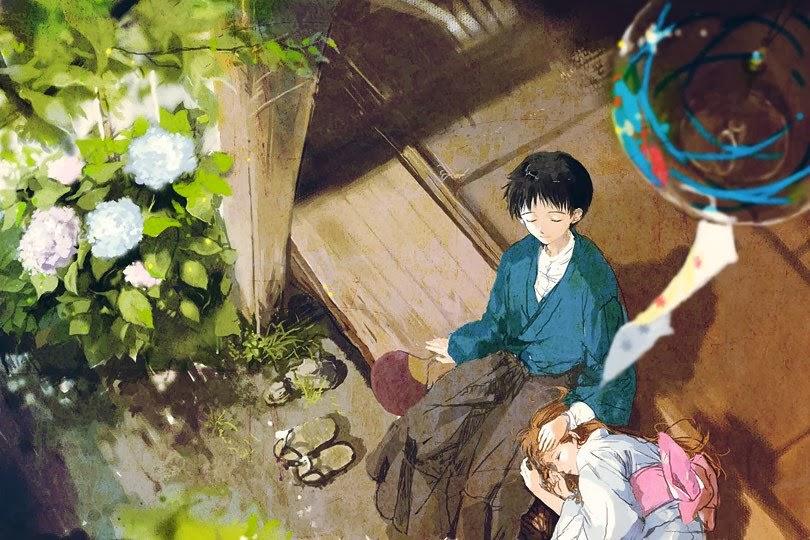 anime, couple, love, sleeping, dream, sweet