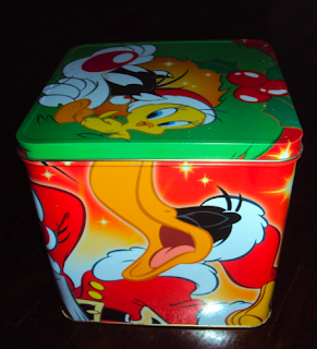 scatola di latta panettone pandoro natale battistero