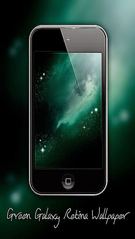 DeviantArt More Like Blue Galaxy Retina Wallpaper iPhone iPod