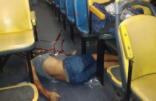 BAHIA: Jovem é morto a tiros após se recusar a entregar seus pertences aos bandidos durante assalto a ônibus