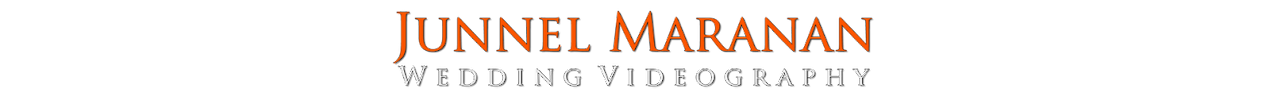 Junnel Maranan Wedding Videography