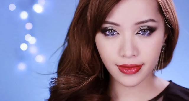 TOP  Michelle Phan dando show em Makeup!