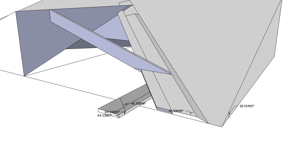 Roof Framing Geometry: California Valley Sleeper