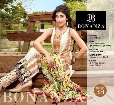 Eid Wear Ready Made Embroidered Dresses By Bonanza