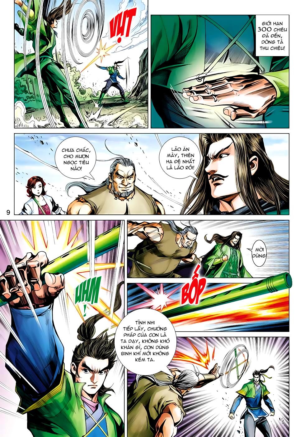 Xạ Điêu Anh Hùng Truyện chap 100 – End Trang 9 - Mangak.info