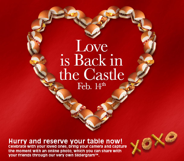 News: White Castle   Valentineu0027s Day Dinner Once Again Offered For 2014