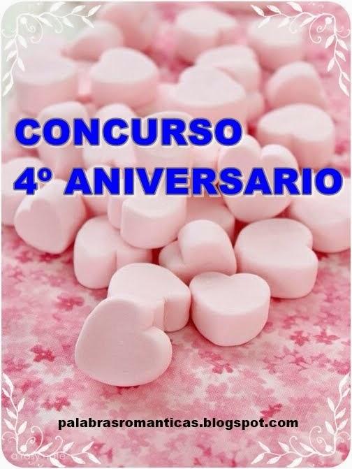 CONCURSO 4º ANIVERSARIO