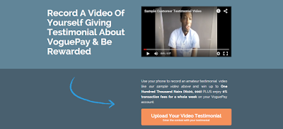 VoguePay, Technology, Online Business, Enter For VoguePay Video Testimonial Contest And Win Big