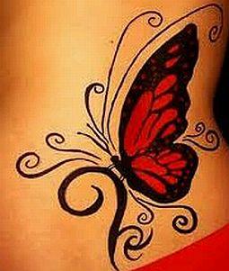 Tatoos y Tatuajes de Mariposas, parte 4