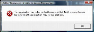 how to fix application failed to start