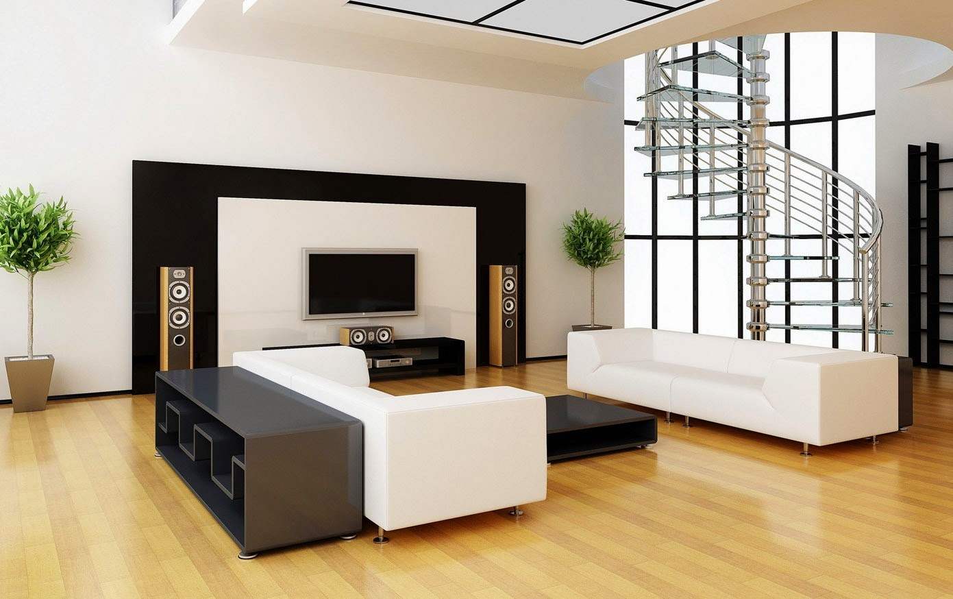 Contemporary Living Room Paint Colors