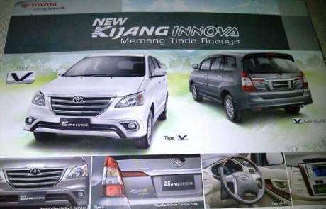 Harga dan Spesifikasi New Kijang Innova 2013