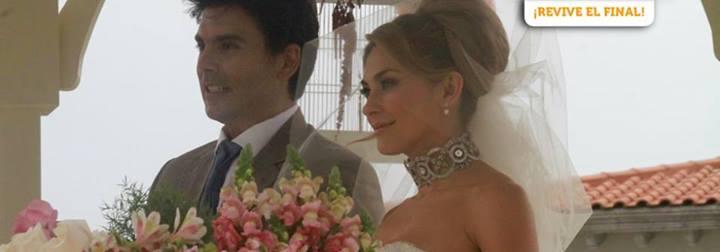 ... Alejandro por fin se casan en el gran capitulo final de La Patrona