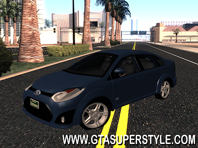 GTA SA - Novo Ford Fiesta Sedan 2014