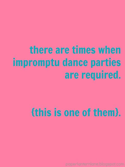 Impromptu Dance Parties