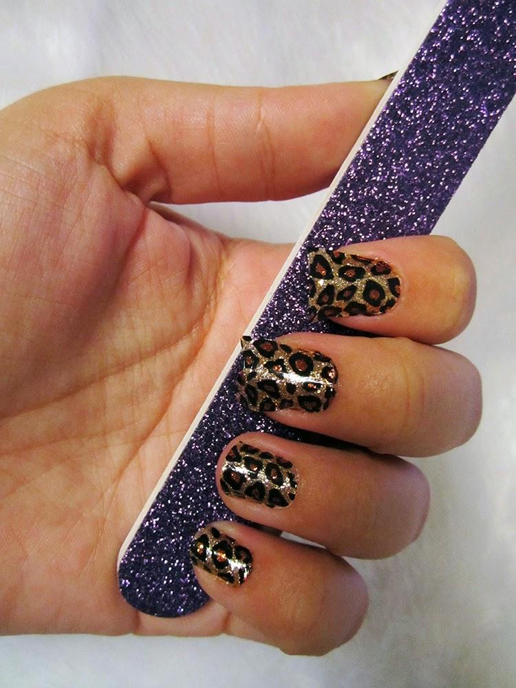 acho tendencia, adesivo para unhas, oncinha, como fazer, sephora, nail art