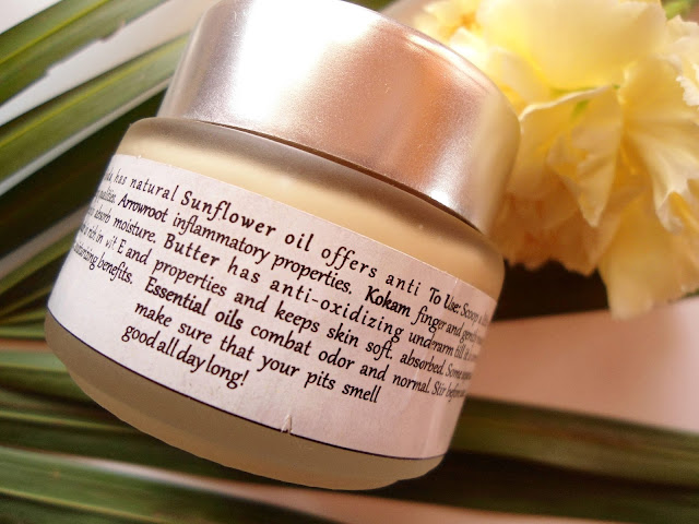 Burst of Happyness Rose Crush' Cream Deodorant and Solid Perfume review, price, details