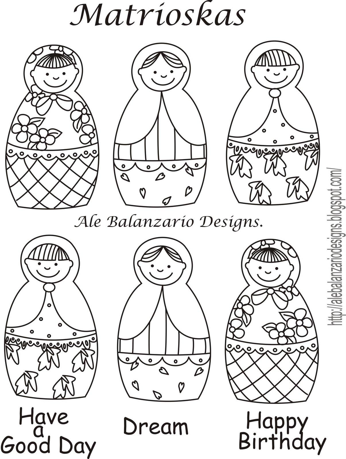 Retales divinas tentaciones tutorial mamushka guardam vil - Papel para dibujar ...