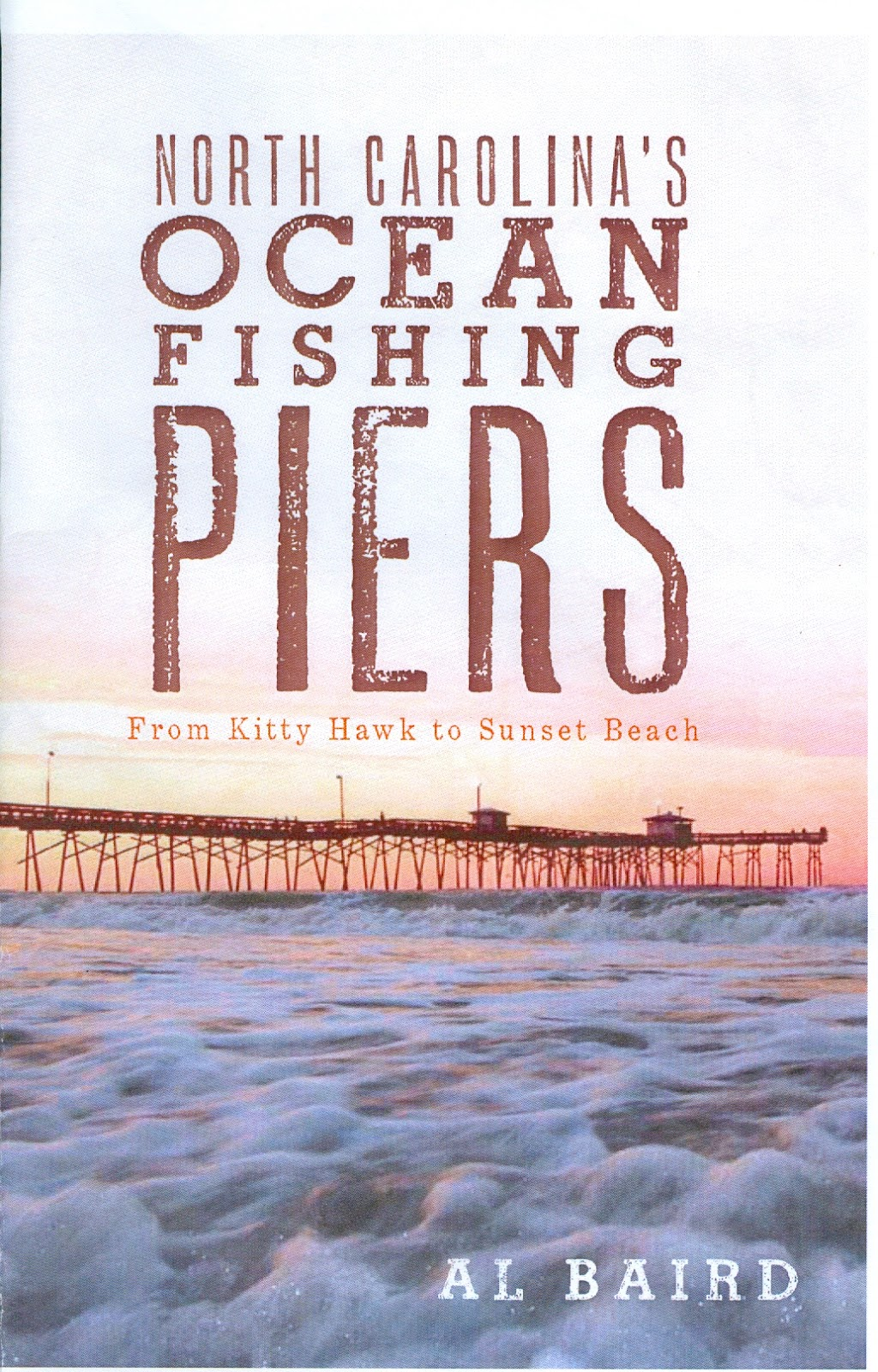 North carolina s ocean fishing piers by for North carolina surf fishing license