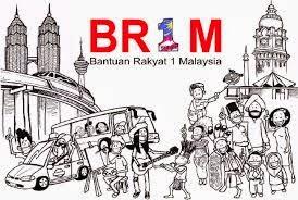 Kadar BR1M 4 0 Tahun 2015 Bantuan Rakyat 1Malaysia
