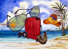 Vakantie benodigheden