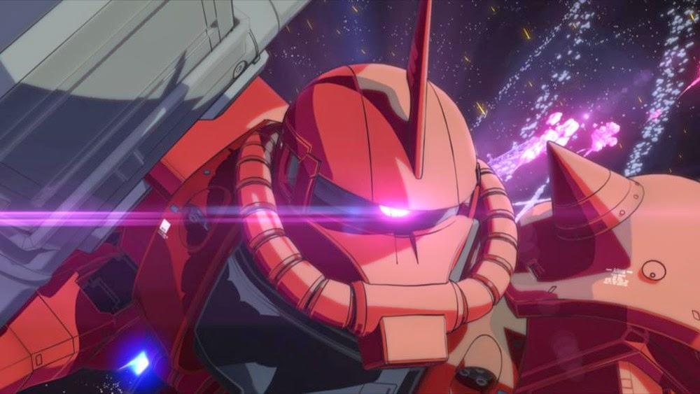 zack rosso Gundam The Origin
