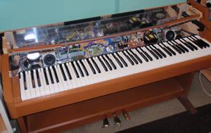 Kienny 39 s blog opening yamaha clp 240 digital piano for for How to repair yamaha keyboard