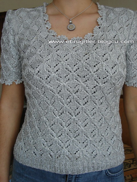 Knitting Pattern For Ladies Vest Top : free knitting pattern: best Croc ladies vest examples