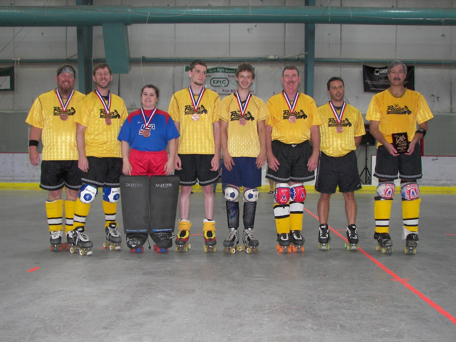 2012 Silver Division 3rd Place Cumberland Raiders