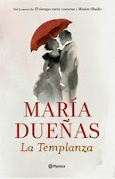 Ranking Semanal: Número 1. La Templanza, de Maria Dueñas.