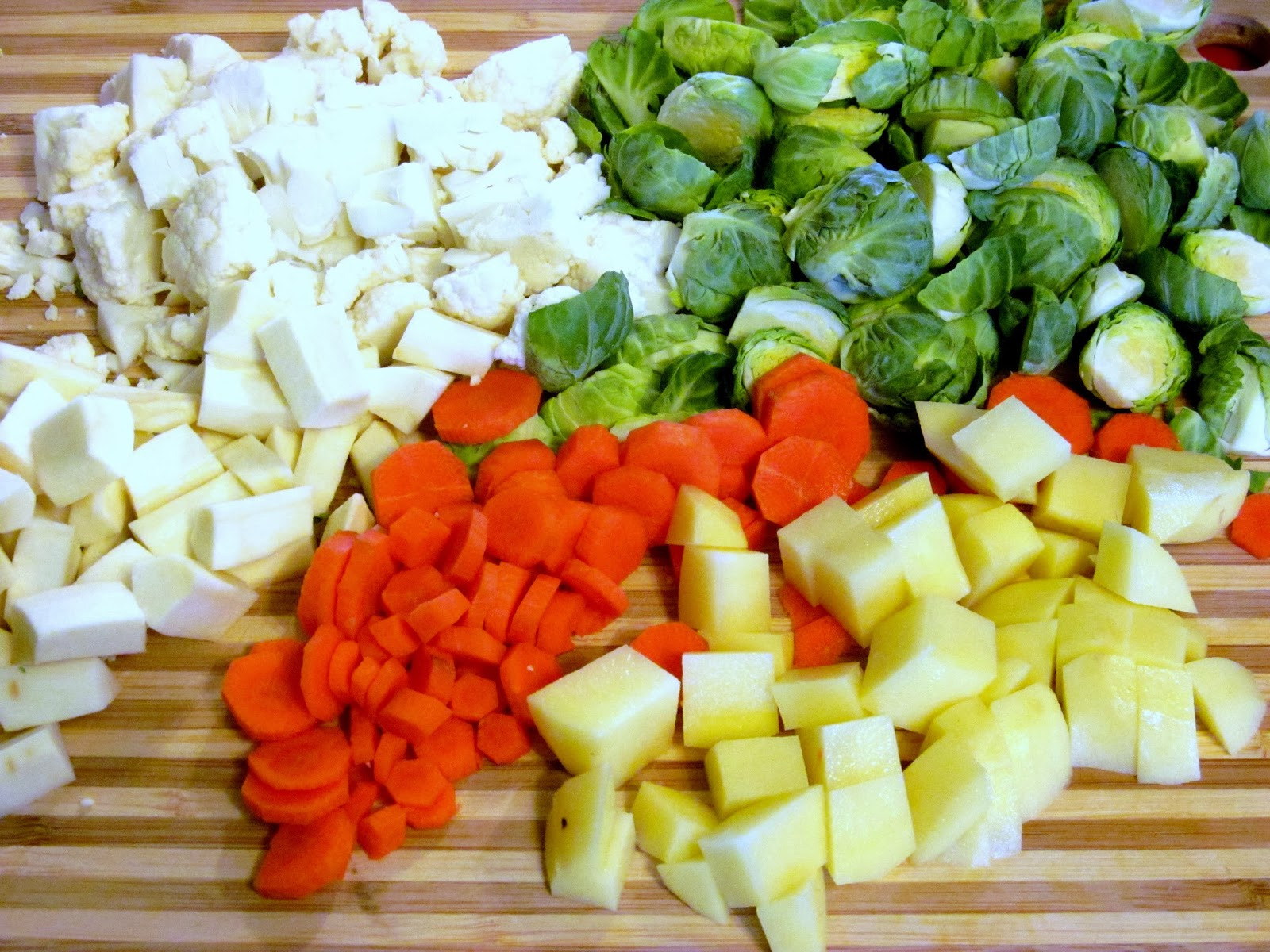 how to make blended vegetable soup