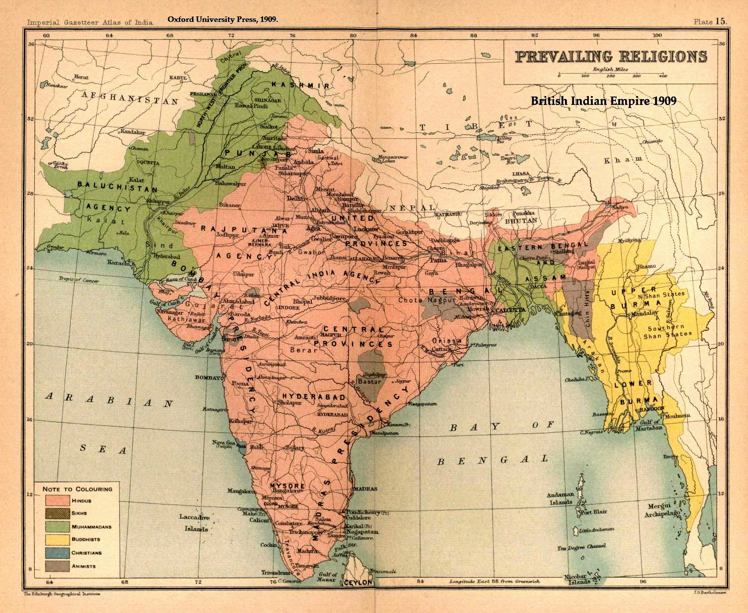 religions in british india the boundaries of present day pakistan and bangladesh were etched in religion before the countries existed