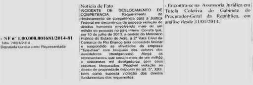 Tenho defendido a opinião de que deve haver total transparência sobre o andamento dos interesses dos divulgadores da Telex FREE no que diz respeito a causa que tramita na 2a.
