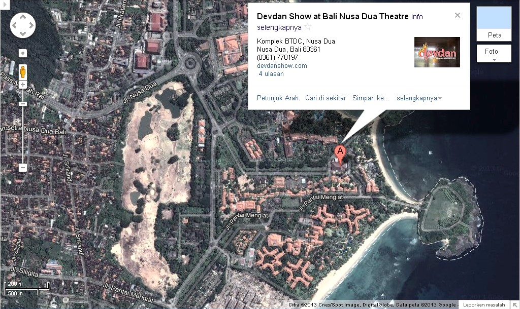Bali weather forecast and bali map info location map of devdan location map of devdan show in bali nusa dua theatre gumiabroncs Images