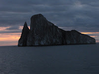 Kicker Rock at Dusk