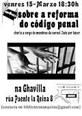 Palestras Codigo Penal 15/03 Compostela
