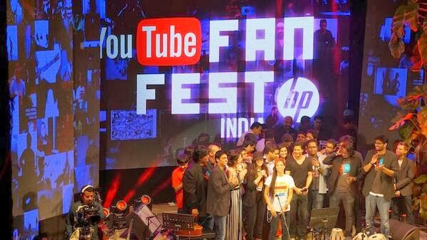 SRK at Youtube FanFest 2014